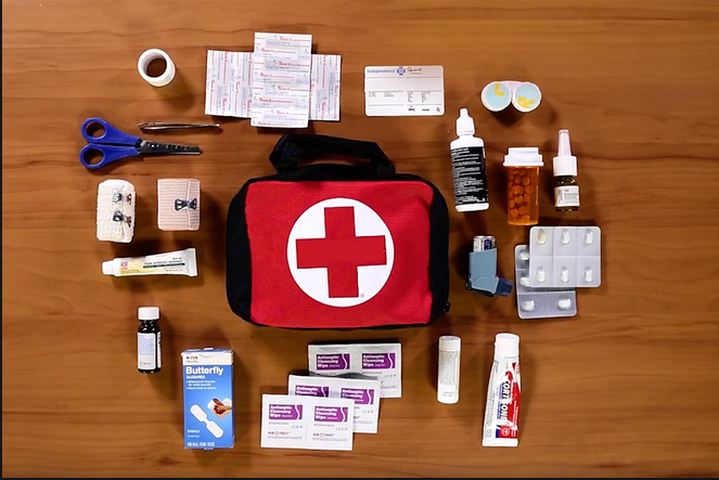 There are many reasons to have a car First Aid Kit